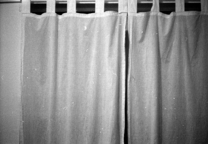 curtain in nighttime