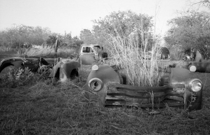 truck in the ranch